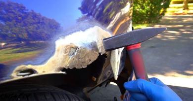 Как отремонтировать ржавчину на вашем автомобиле без сварки