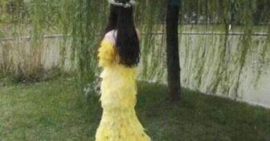 Платье из 6000 листьев