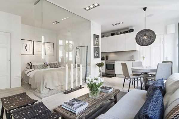 Идеи стеклянных перегородок в квартире