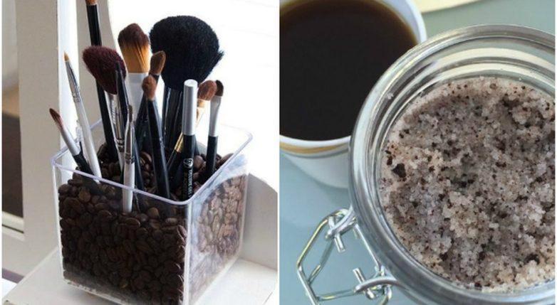 15 полезных способов использования кофе в зернах и кофейной гущи