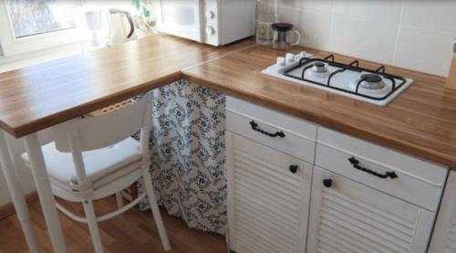 Преображение кухни за копейки. Как вам идея? — Дом. Ремонт. Дизайн