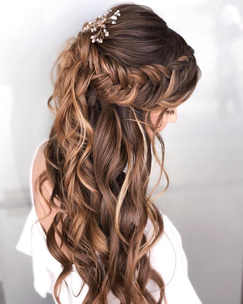 прически для длинных волос фото 27