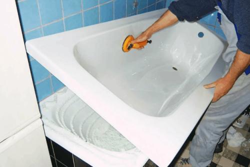 Как самостоятельно установить акриловый вкладыш в ванну. Несколько советов по монтажу