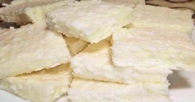 Как приготовить быстрый кокосовый десерт без выпечки