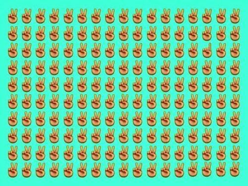 За сколько секунд вы найдете отличающее изображение?
