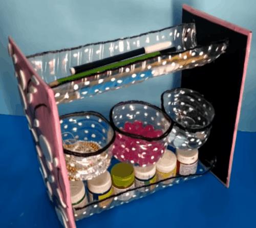Органайзер для мелочей из подручного материала