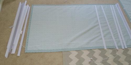 Римские шторы без шитья: минимум усилий, отличный результат