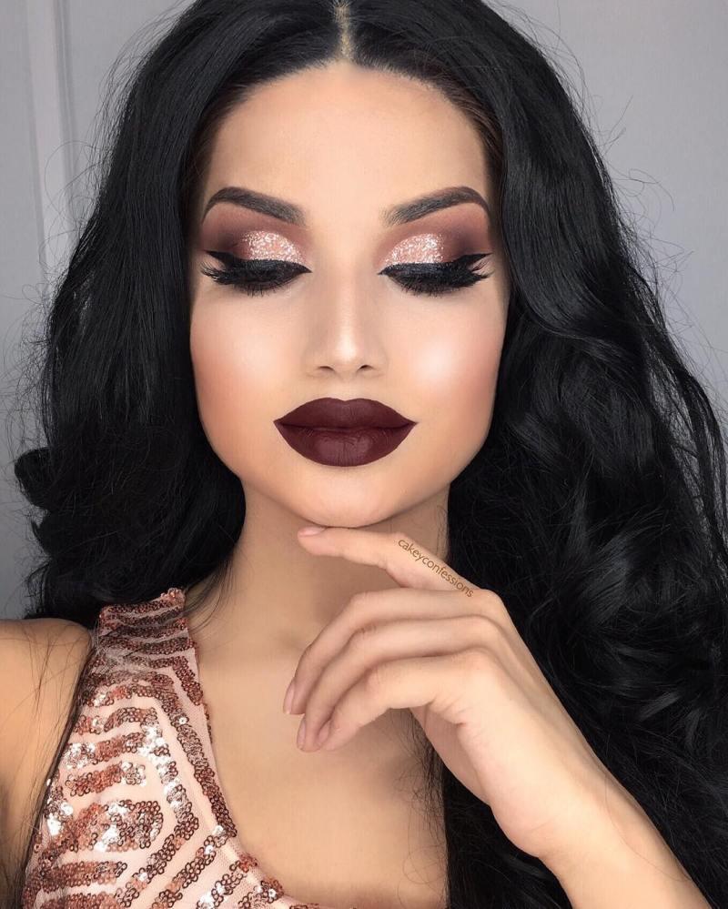 красивые идеи макияжа 2019 фото 16