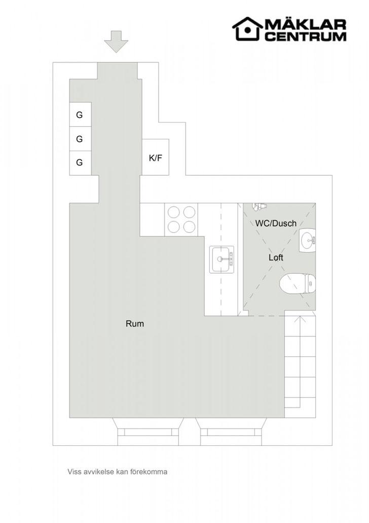 Чудо-квартира на 25 кв. м!