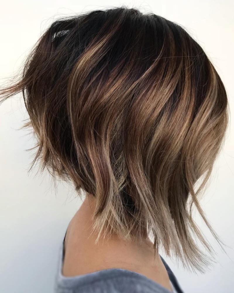 Мелирование на короткие волосы фото 4