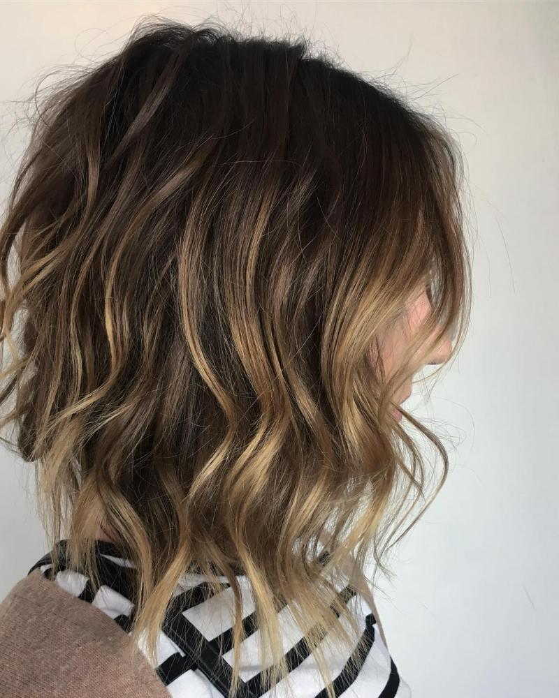 Мелирование на короткие волосы фото 16