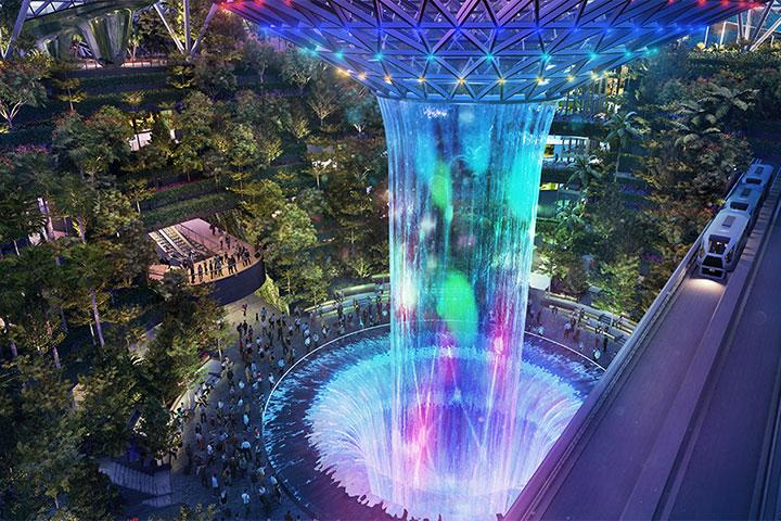 В Сингапуре построили уникальный аэропорт, не имеющий аналогов в мире.
