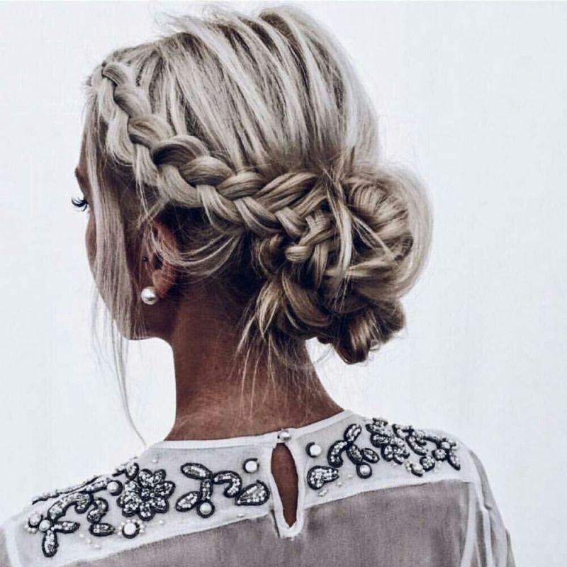 длинные волосы с косой челкой фото 30