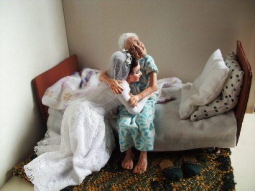 Невероятно реалистичные бабушки и дедушки, при взгляде на которых сжимается сердце