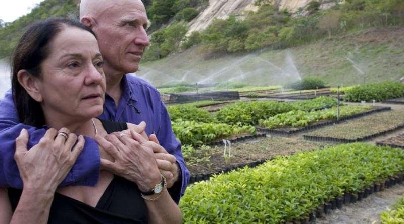 Супруги из Бразилии превратили пустошь в тропический рай, высадив более 2 миллионов деревьев