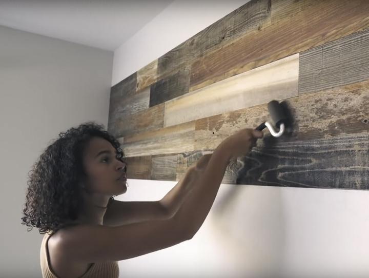 Разнообразьте интерьер, обновив необычным образом ваши стены
