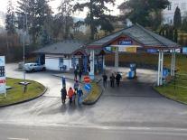 Zteč benzínové pumpy