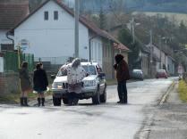 Výběr mýtného v Kozohorské ulici