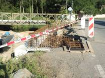 Stavba mostu do Jatecké ulice
