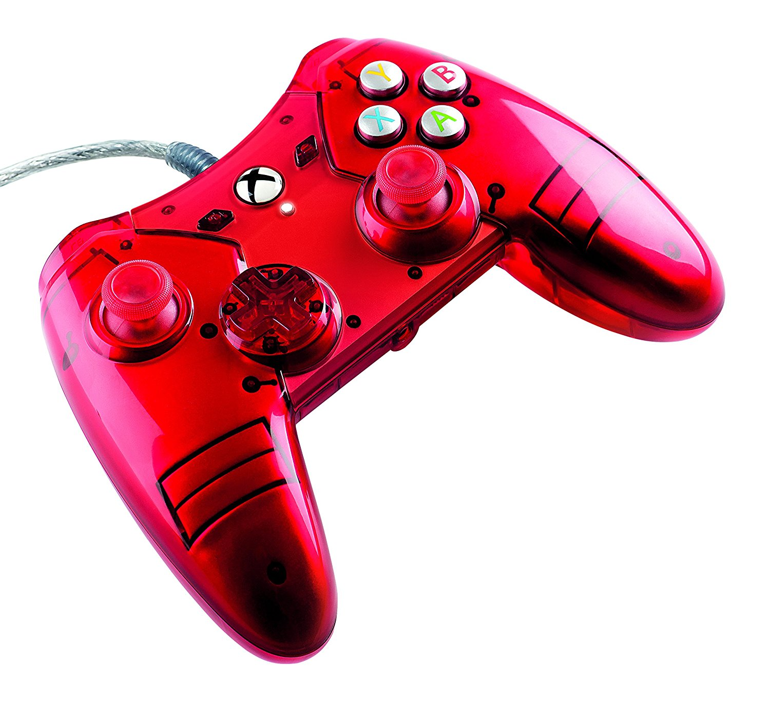 Buy Xbox One Xbox One Liquid Metal Red Wired Controller
