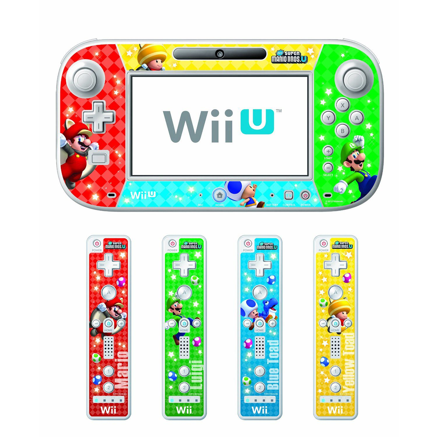 Buy Nintendo Wii U Wii U New Super Mario Bros U Skin And