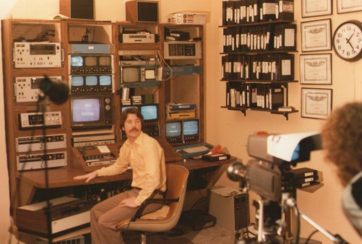 Early days at WKTV