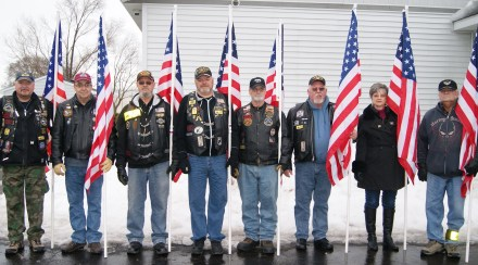 Patriot Guard Riders Flag Line