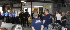 Steves Antique Auto Repair is the first business to host Appreciation Day for Wyoming police and fire fighters.