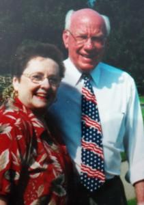 Judie with former U.S. Representative Vern Ehlers.