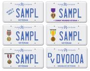 Veterans Day Plates