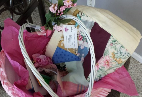 A basket filled with loving-kindness and best wishes.