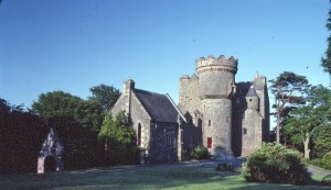Penkill Castle in Scotland became home for the Upps for one week.