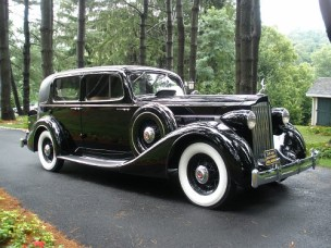 This 1936 14th Senior Series 1401 Packard Eight-913 Touring Sedan originally cost over $2500. Although today's value is unknown, only a few of these Sedans still remain.
