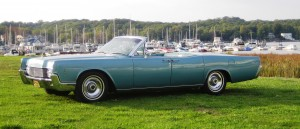 A 1966 Continental Convertible