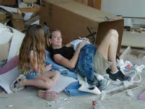 homeless girls