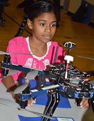 Checking out an unmanned aerial vehicle