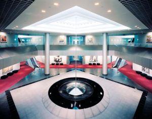Steelcase Pyramid Interior