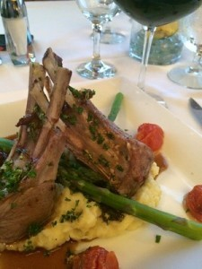 Rack of Lamb at Bay Harbor Golf Club - Promote Michigan