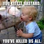 swine-kiss