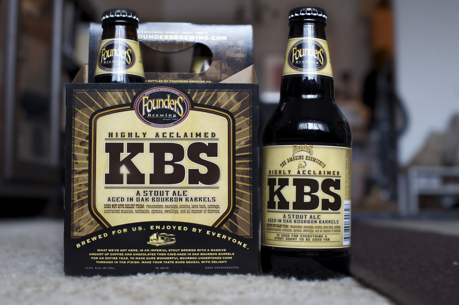 Kentucky Bourbon Stout Beer
