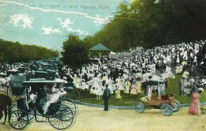 John Ball PARK DAY POSTCARD