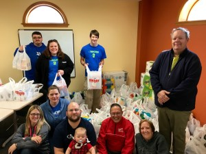 The South Kent Jaycees recently participated in a wish list drive for the Grand Rapids' Ronald McDonald House.