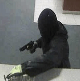 Picture of the robbery suspect at the Fifth Third Bank on 54th Street.