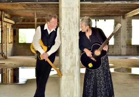 Roger Brown and Mary Sue Wilkinson make up the guitar duo Drive South.