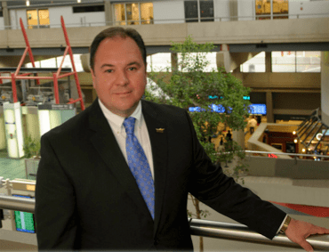 "James ""Jim"" Gill, the new president and CEO of the Gerald R. Ford International Airport"