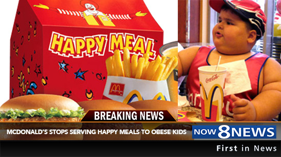 McDonald's Will Stop Serving Happy Meals To Obese Children ...