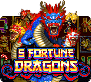 5 Fortune Dragons SLOT SpadeGaming