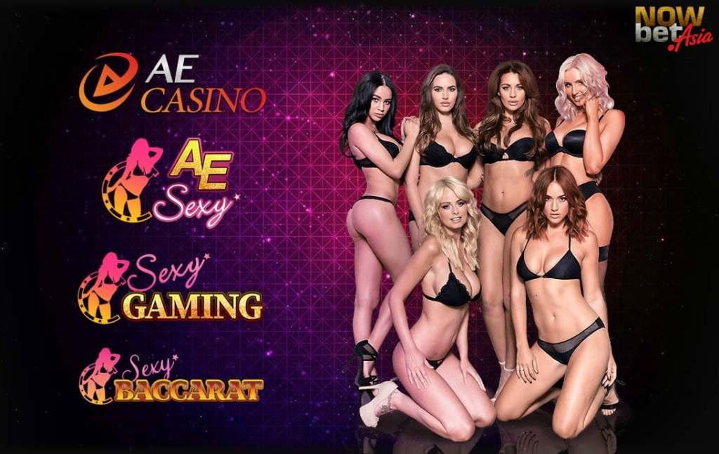 บาคาร่า AE Sexy เซ็กซี่บาคาร่า เซ็กซี่เกมมิ่ง Sexy Gaming AE Casino บาคาร่าบิกินี่