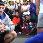 Alex Ariza with Manny Pacquiao