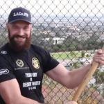 Tyson Fury beard and axe